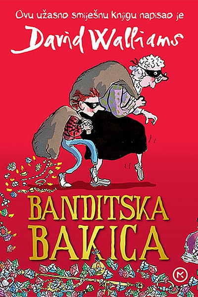 Banditska bakica David Walliams Mozaik knjiga