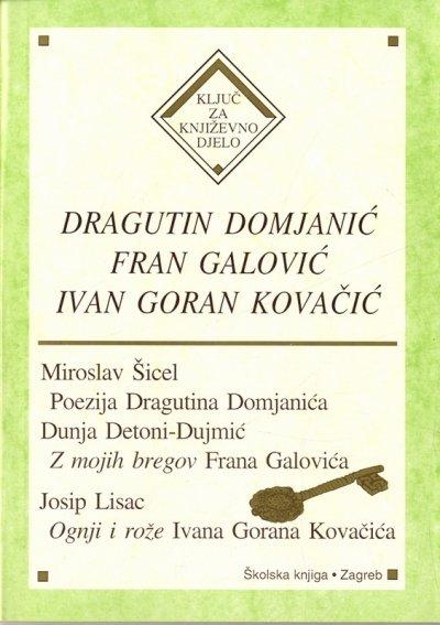Katalog Dragutin Domjanic Fran Galovic Ivan Goran Kovacic
